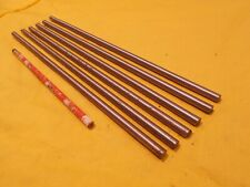 6 Pc Lot Of 516 Dia 1018 Steel Rod Tool Die Shop Round Bar Stock 516 X 12