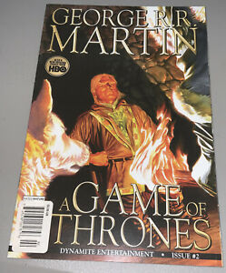 GAME OF THRONES #2 Dynamite Newsstand Variant George R.R. Martin