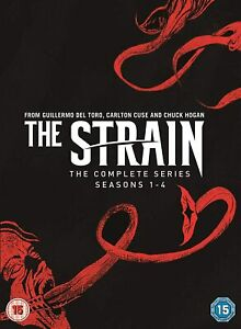 THE STRAIN - COMPLETE SERIES 1-4 [DVD] NEW & SEALED