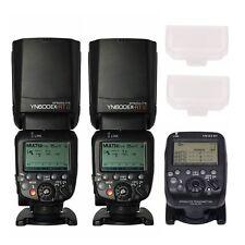 Yongnuo 2pcs YN600EX-RT II Wireless Speedlite + YN-E3-RT Transmitter for Canon