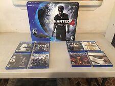 Sony PLAYSTATION 4 Uncharted; A Thief's End Bundle W/Accessories 500GB (NIB)