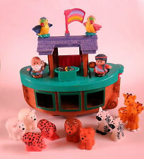 Fisher Price Little People Noah's Ark Playset with Touch and Feel Animals (2)