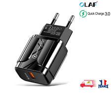 Chargeur rapide USB pour téléphone portable Quick Charge 3A 5V QC 3.0