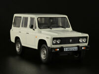 ARO 244 Romanian SUV 1982 Year White 1/43 Scale Collectible Diecast Model Car