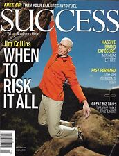 Success business magazine Jim Collins Massive brand exposure Fast goal tips