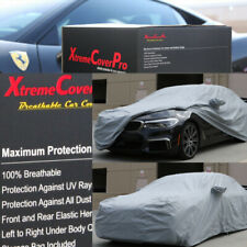2015 BMW 528I 535I 535D 550I SEDAN Breathable Car Cover w/Mirror Pockets - Gray