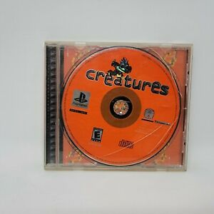 Creatures (Sony PlayStation 1 PS1, 2002) No Manual Tested and Works
