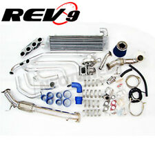 REV9 TURBO CHARGER COMPLETE SETUP KIT FOR CIVIC SI EP3 RSX K20 DC5 FG2 T3T4 T3