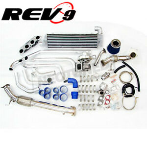 REV9 TURBO CHARGER COMPLETE SETUP KIT FOR CIVIC SI EP3 RSX K20 DC5 FG2 T3T4 T3