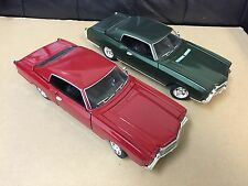 1:24 1970 Chevy Monte Carlo SS454 Green & Red 2pc set by Saico without box