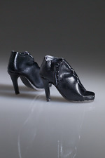 Tonner Shirred Step Black Heels for Ellowyne Wilde doll NRFB shoes