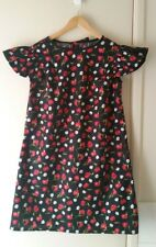 NEW Daisy & Anemone shift dress with frill cap sleeve, size 12