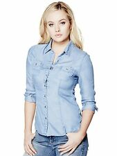 GUESS Women's Janelle Denim Shirt