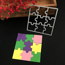 Puzzle DIY Metal Cutting Dies Stencil Template Scrapbook Album Paper Card Craft