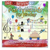 DIE 30 BESTEN PARTYLIEDER FÜR KINDER  CD NEW!
