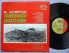 El Autentico TAMBORAZO ZACATECANO LP Orfeon LP-12-463 1965 ORIGINAL Mexico VG+
