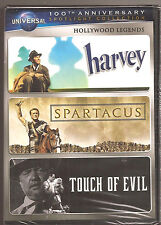 Harvey / Spartacus / Touch Of Evil Dvd Hollywood Classics Legends Brand New