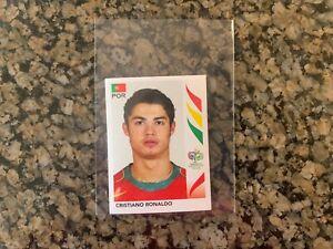 Cristiano Ronaldo 2006 Panini World Cup Rookie Sticker #298