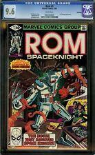 ROM #5 (1980) CGC 9.6 CAMEO APPEARANCE of DR STRANGE! MARVEL COMICS! TV SHOW!