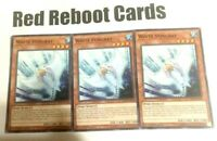 3x White Stingray Yugioh mint common