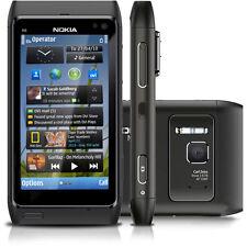 Nokia n8-00 Grey 16 Go (Sans Simlock) Smartphone Gps 3 G 12mp WLAN Made Finland bien