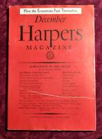 HARPER'S December 1937 STUART CHASE HOMER CROY NATHANIEL PEFFER CARL CROW