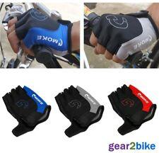 Fingerless Cycling Gloves Bike Bicycle Padded Half Finger Sports Motorbike Road