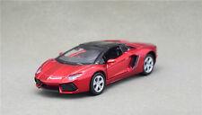 1:43 Lamborgh Aventador Alloy Car Model Pull Back Vehicles Kids Toy --Red