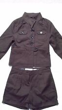 NEW OLD NAVY BROWN SHORT PANT SUIT SIZE XS