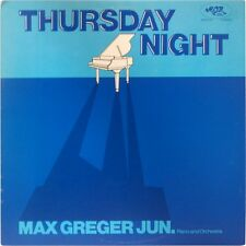 Max Greger, Jr. Piano Orchestra THURSDAY NIGHT 1980 MOR-24 STEREO RARE JAZZ