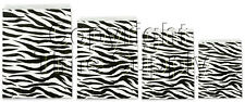 ZEBRA LOT OF 100 PAPER GIFT BAGS  & JEWELRY BAGS