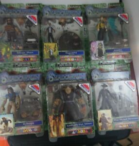 Shadowrun duels series 1. All 6 variant Heroclix WizKids  games 2003 rare sealed