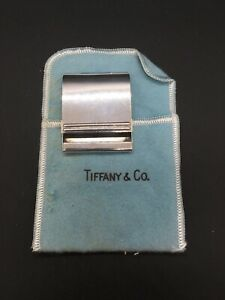 Vintage TIFFANY Sterling Cigarette Match Book Holder With Pouch