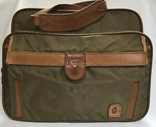 HARTMANN Luggage Nylon & Leather Travel Suitcase Carry-on Duffle Bag (RF691)
