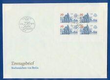DDR FDC Kleinbogen 3077