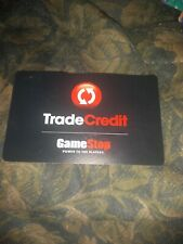 Game Stop * Used Collectible Trade Credit Card No Value * SV1601147