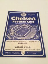 First Division Teams A-B Aston Villa Football Programmes