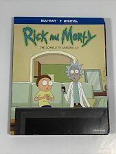 Rick and Morty: The Complete Seasons 1-3 (Blu-ray) NO DIGITAL ~GREAT LIKE NEW~