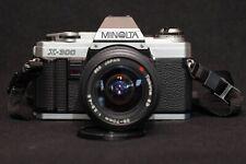 Minolta X-300 35mm Spiegelreflexkamera Body mit Objektiv Analog SLR Filmkamera