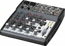 NEW Behringer XENYX 1002 10-Input Mixer Board w/ British EQ, Power Supply includ