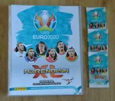 Panini Adrenalyn XL Uefa Euro EM 2020 3 Booster + Sammelmappe Sammelordner