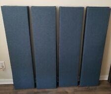 6 Narrow Sound Absorbing Wall Panels
