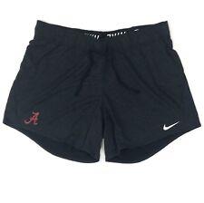 New Nike Alabama Crimson Tide Dry Attack Heathered Short Women's M Black 923246