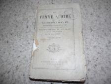 1884.Une femme apotre.Vie et lettres d'Irma Le Fer de la Motte..