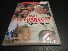 """DVD NEUF """"PAPE FRANCOIS - LE NOUVEAU VISAGE DE L'EGLISE"""" documentaire"""
