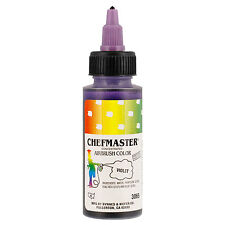 Chefmaster 2-Ounce Violet Airbrush Cake Decorating Food Color