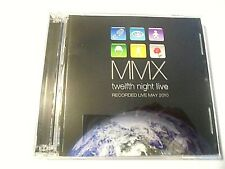 MMX-TWELFTH NIGHT LIVE-RECORDED LIVE MAY 2010-2 CD ALBUM-NEAR MINT-ESTATE-TN008