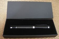 Real Carbon Fiber Stylus Ballpoint Roller Ball Pen for Signature Office Contract