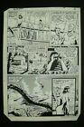 Original Art ACTION COMICS #566, pg 4, RON RANDALL pencils, KARL KESEL inks
