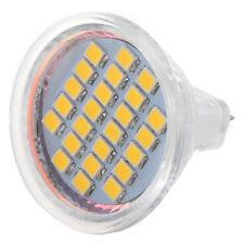 5 x MR11 24 3528 SMD LED Lamp Spot Light Lamp Bulbs Warm White 12V S6W8
